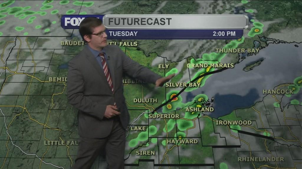 Tuesday, May 25, 2021 Morning Forecast