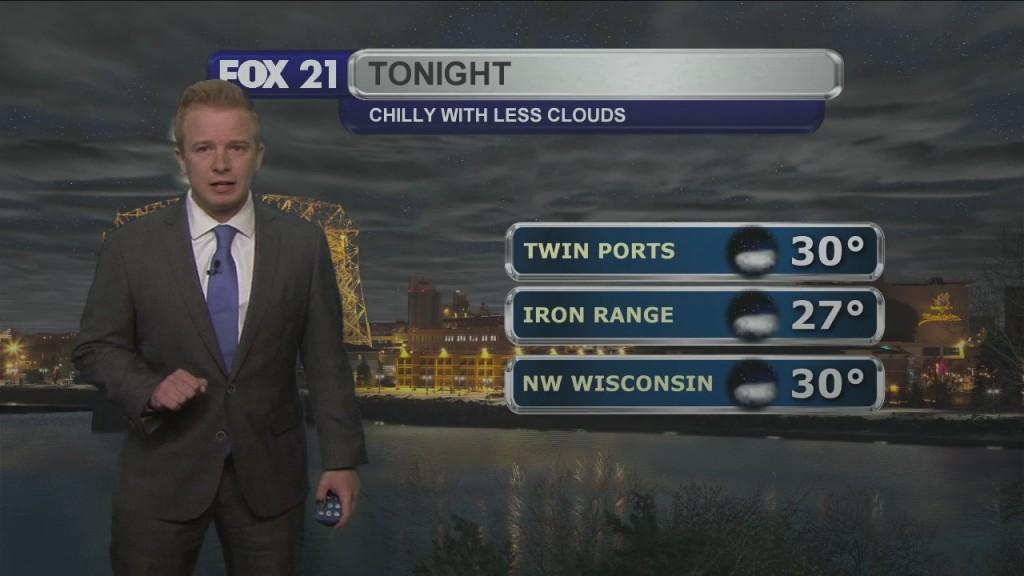 Sunday Night Northland Forecast