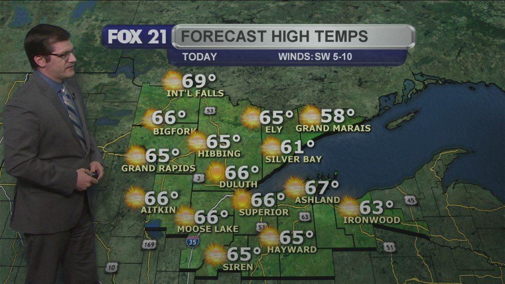 Wednesday, May 12, 2021 Morning Forecast