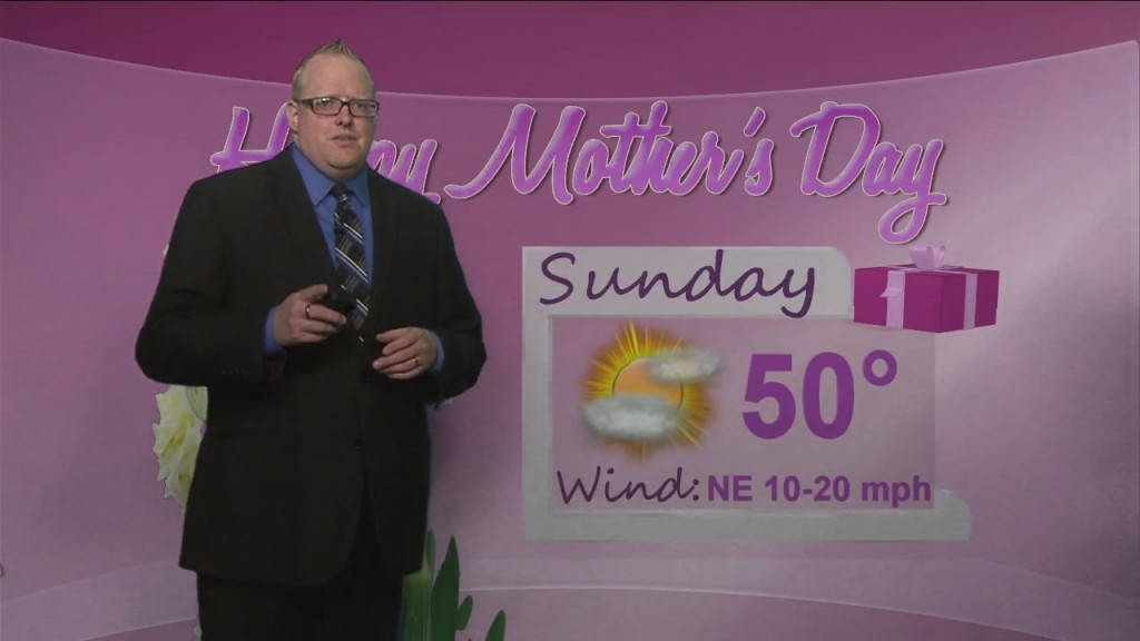 Northland's Forecast For Mother's Day And To Begin The Week