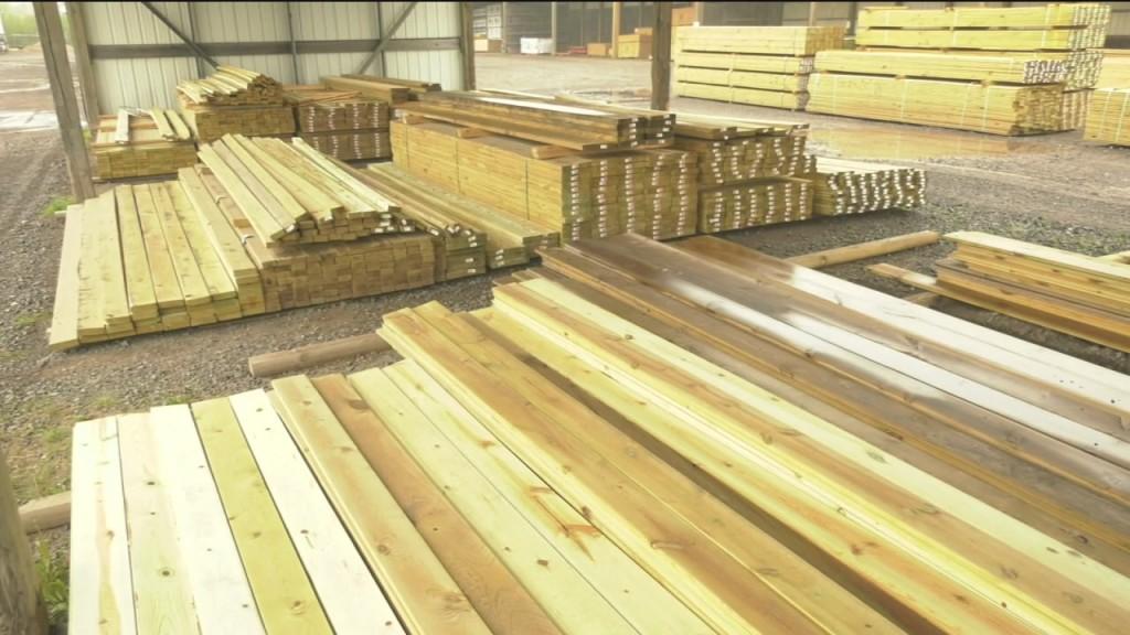 Lumber Prices Inflating