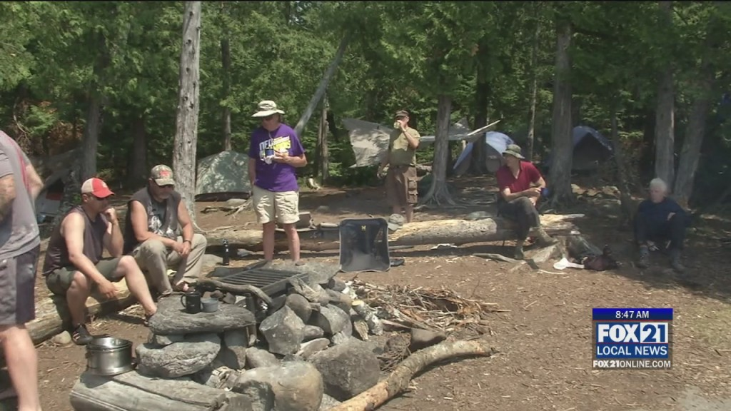 Bwca Trip For Veterans