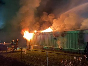 Cook Trailer House Fire