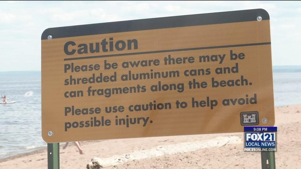 Beach Cleanup Update