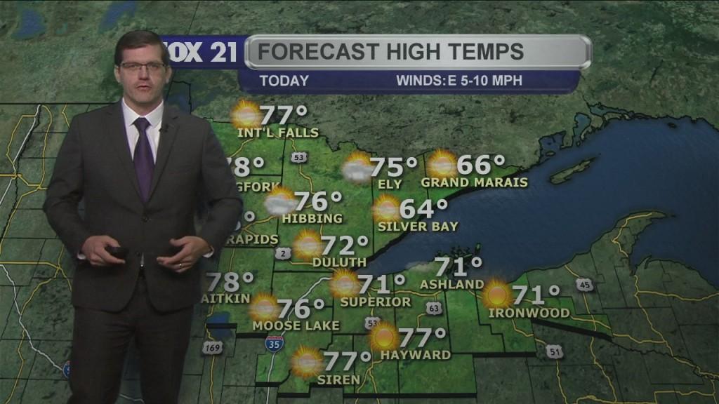 Tuesday, June 15, 2021 Morning Forecast