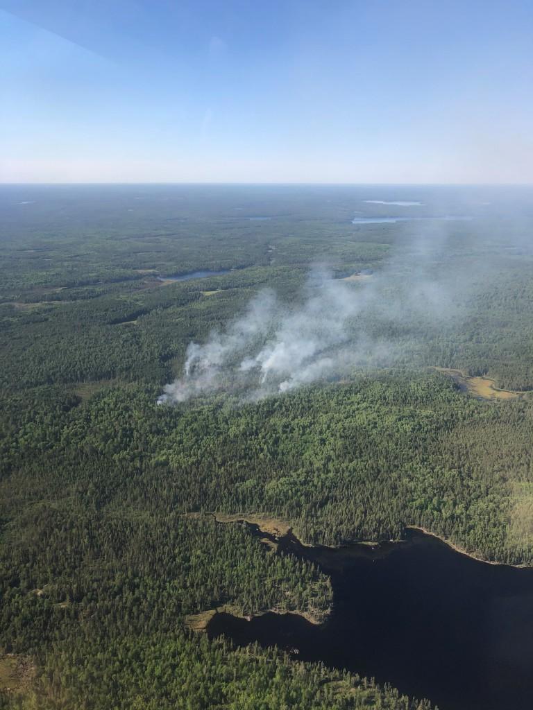 Hassel Lake Fire June 7 2021