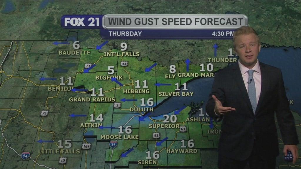 Midweek Northland Weather Forecast