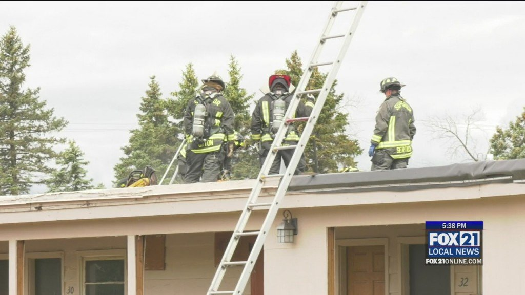 Superior Fire Department Practices On Motel