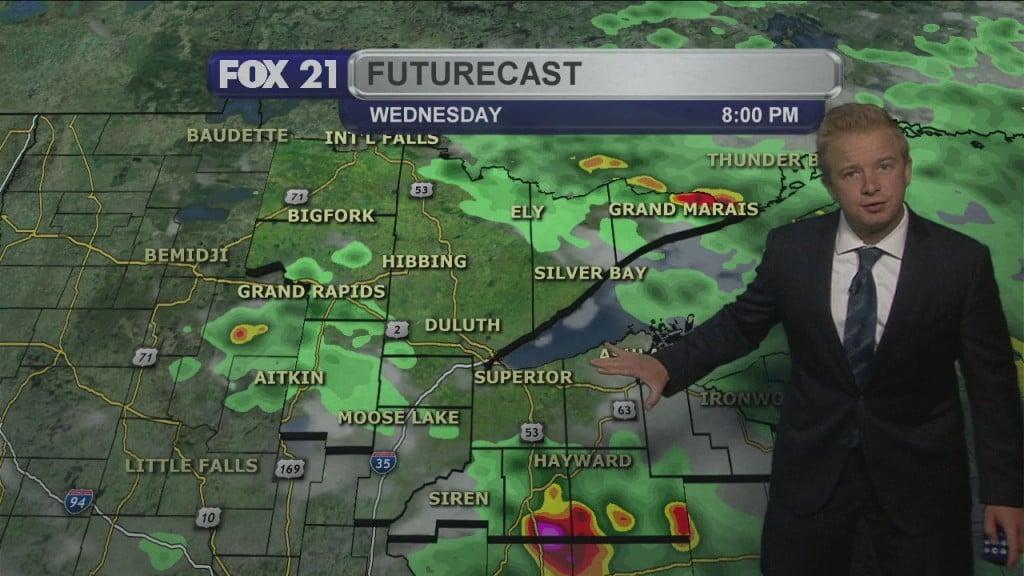Northland Wednesday Evening Forecast