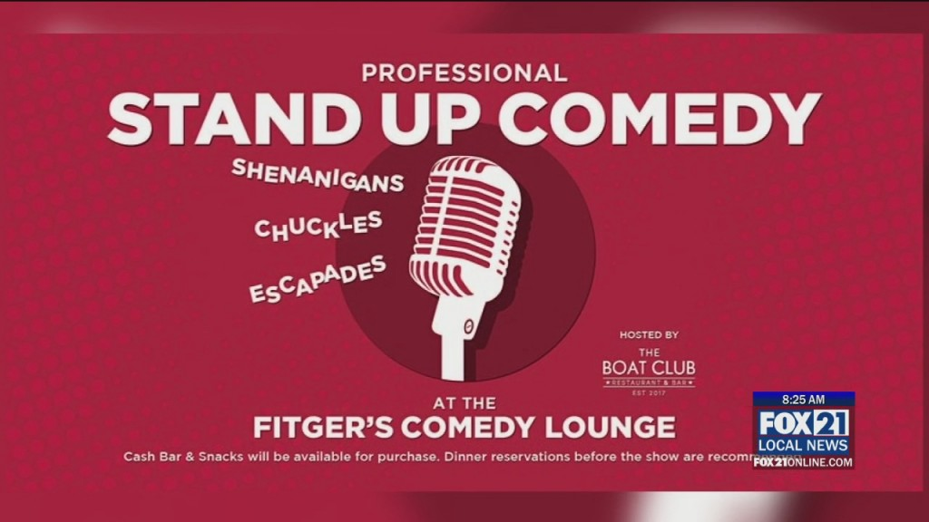 Coffee Conversation Fitger's Comedy