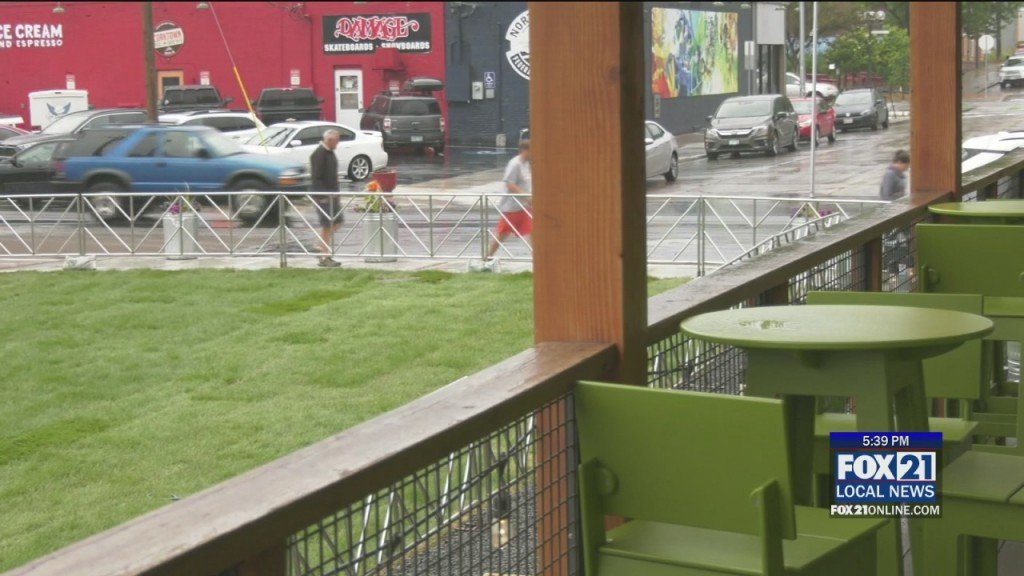 Bent Paddle's New Green Space