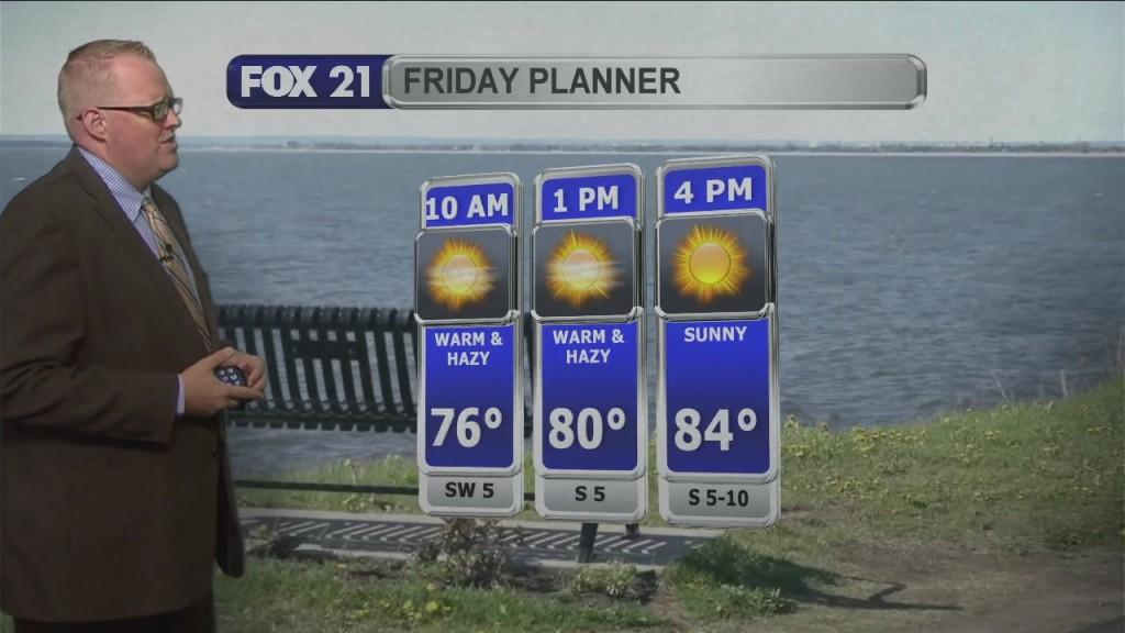 Friday Morning Northland Weather Forecast