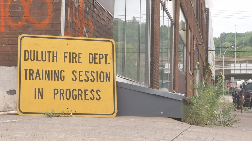 Duluth Fire Department Training