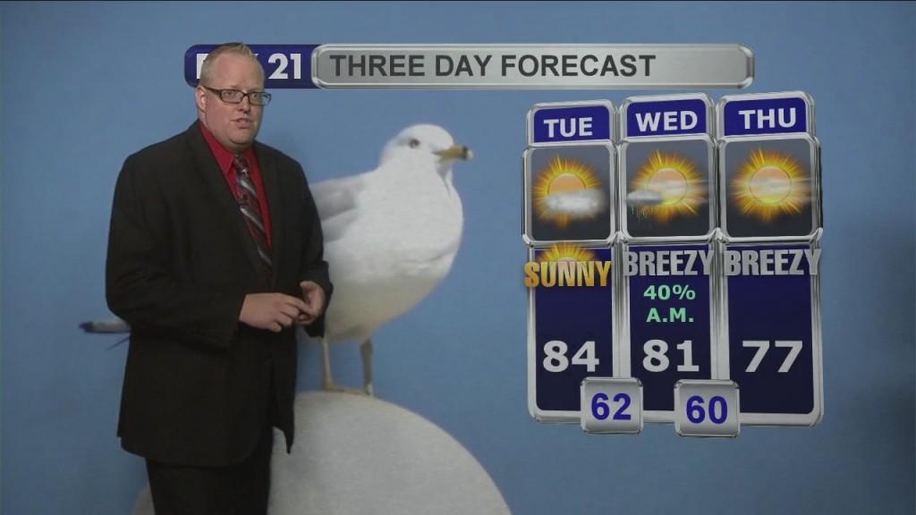 Tuesday Morning Northland Weather Forecast