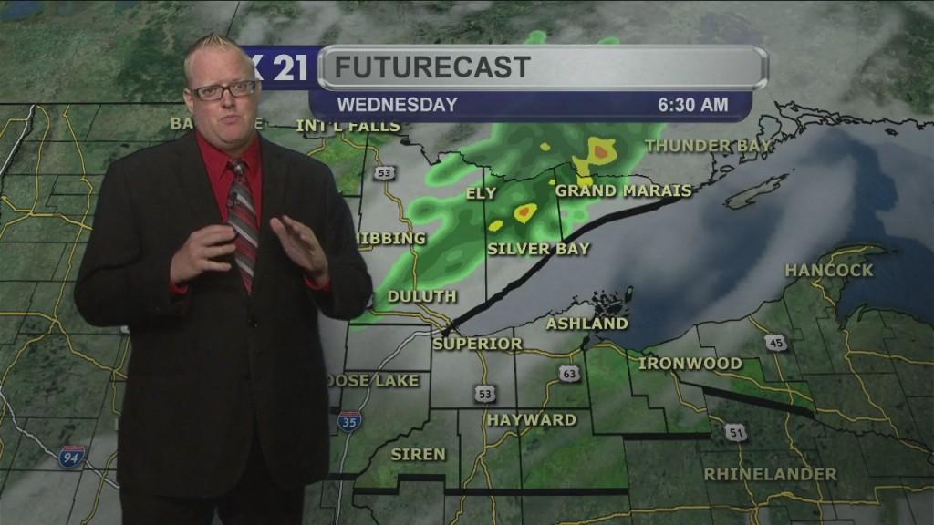 Tuesday Evening Northland Weather Forecast