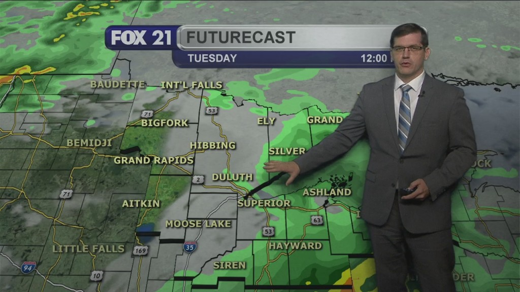 Tuesday, August 24, 2021 Morning Forecast