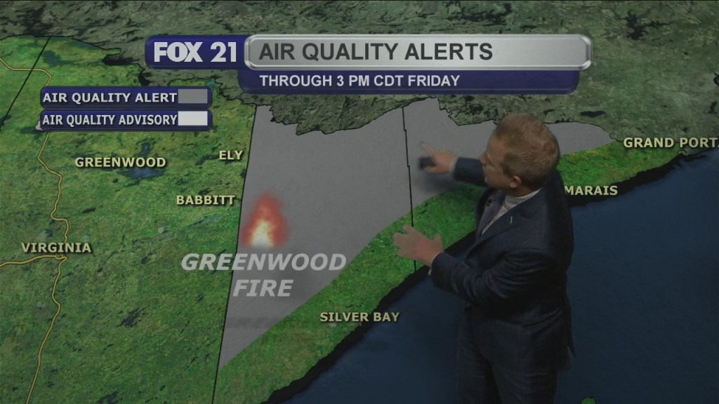 Wednesday Evening Northland Forecast