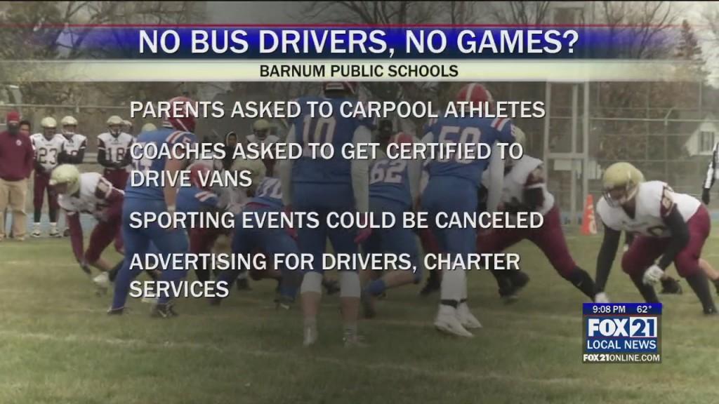 No Bus Drivers