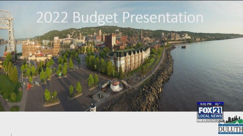 Mayor Budget Presentation
