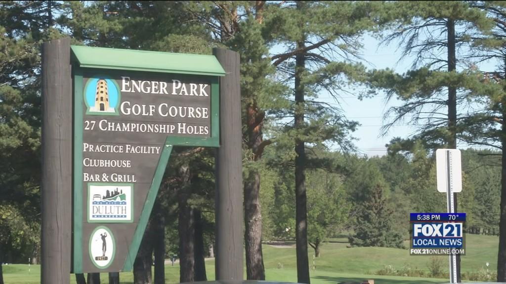 Enger Golf Changes