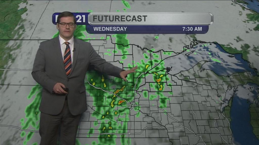 Monday, October 25, 2021 Morning Forecast