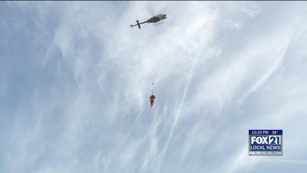 Aerial Rescue Training