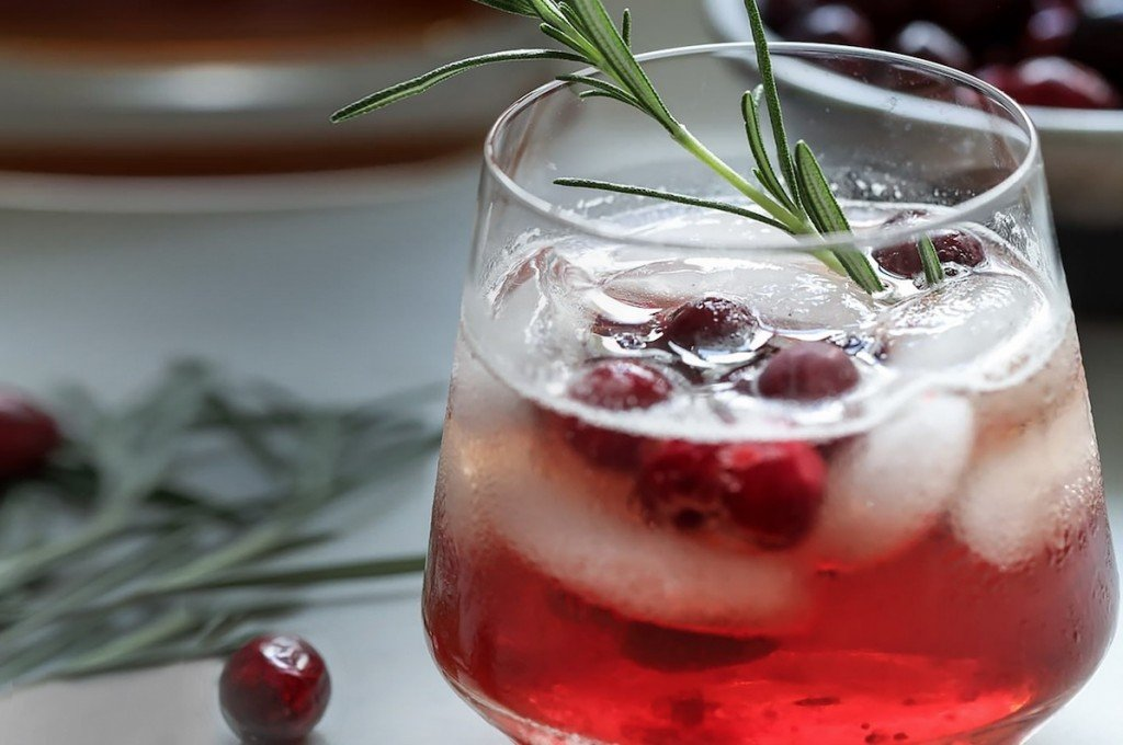 Maple Cranberry Bourbon