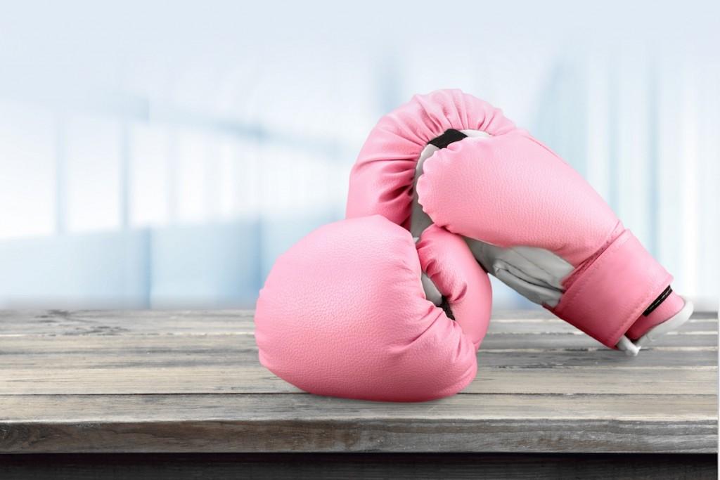 Pink Boxing Glove.