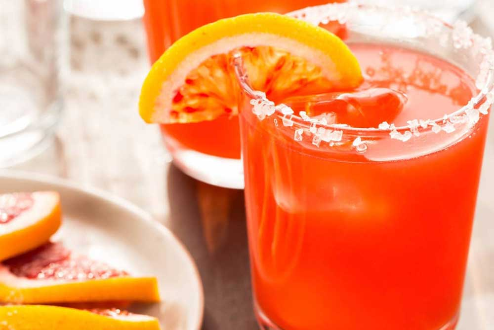 Blood Orange Margaritas Tzr