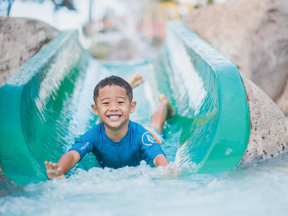 A Slide at Wet'n'Wild Hawaii
