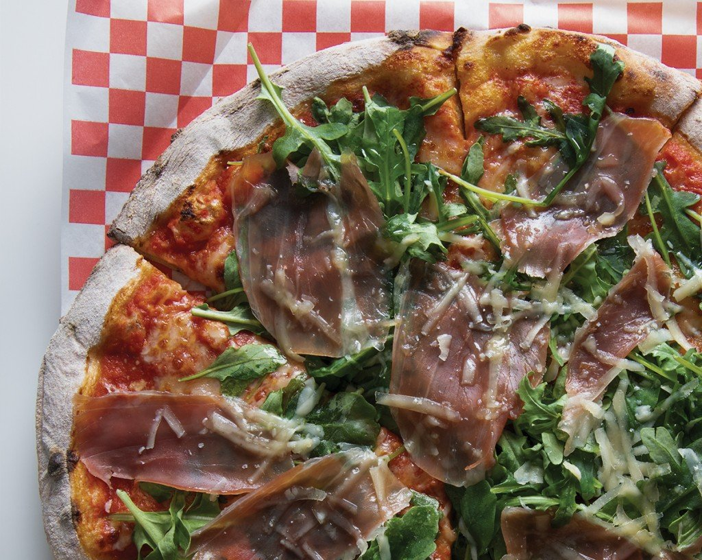 Agostinos Pizza Food Truck Prosciutto Di Parma Pizza Hawaii