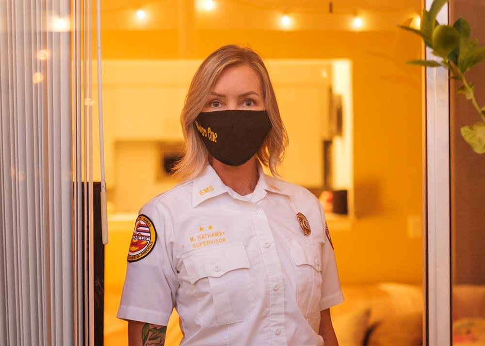 What Its Like Being A First Responder During The Pandemic Coronavirus Marie Hathaway Cover