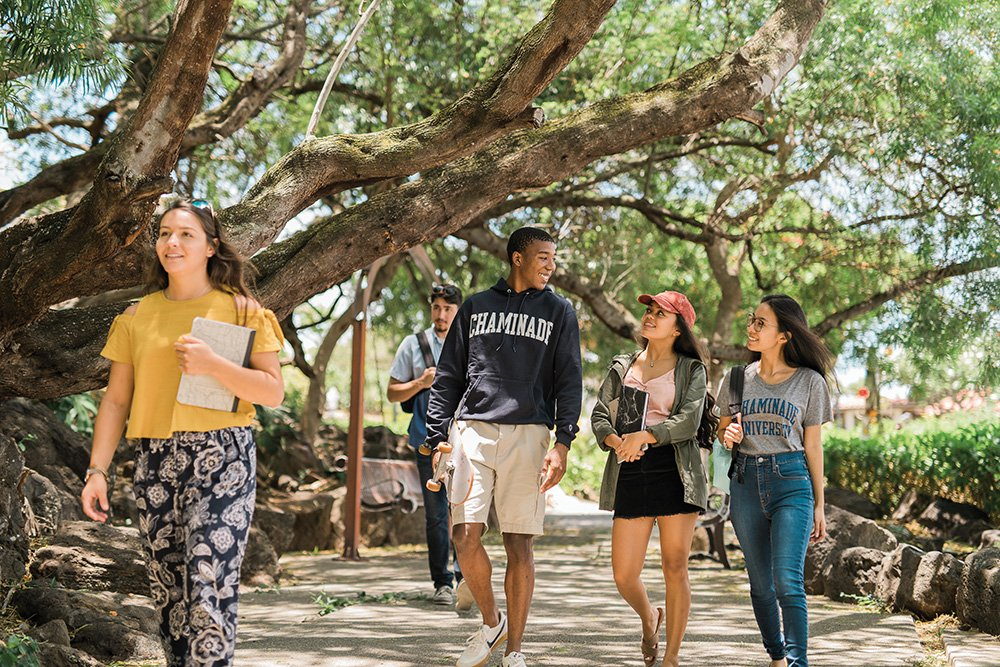 2021 Hawaii College Guide Honolulu Magazines Tips To Navigating The Road To College Chaminade University Studentswalking