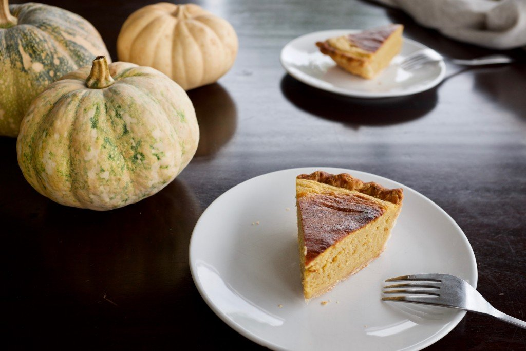 Squash Or Sweet Potato Chiffon Pie