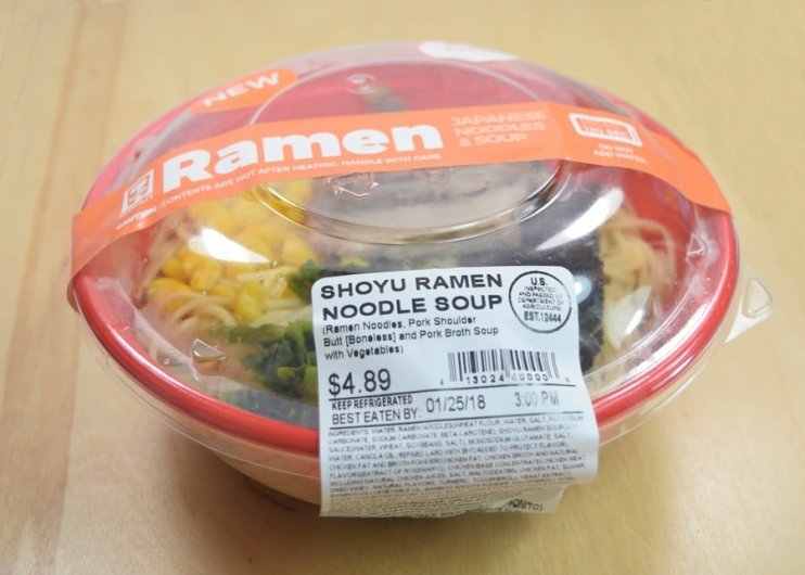 7-Eleven Hawaii's New Shoyu Ramen