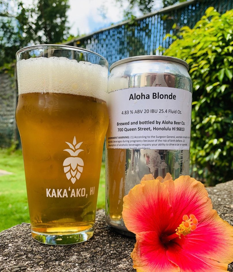 Aloha Blonde Ale