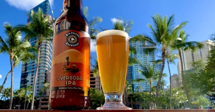 Big Island Brewhaus Overboard IPA