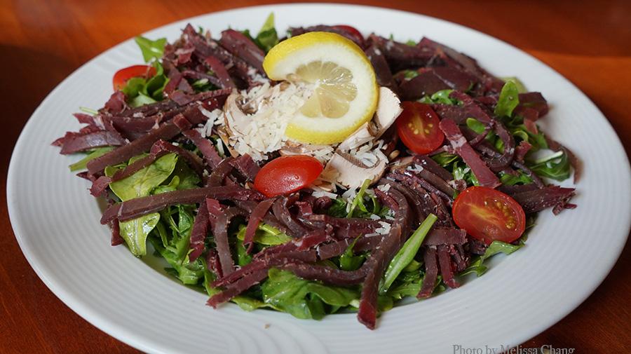 Braesaola salad