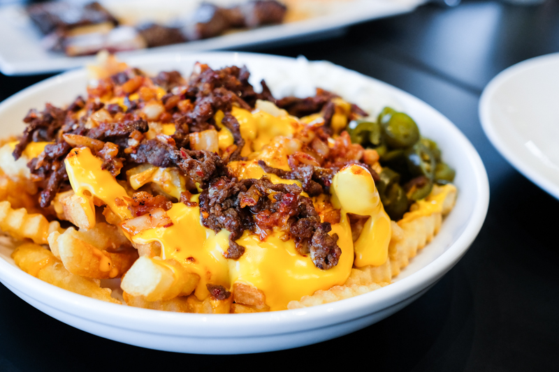 When you're ready for more, the DB kimchi fries for $12 offer that extra dose of fried, cheesy, spicy goodness.