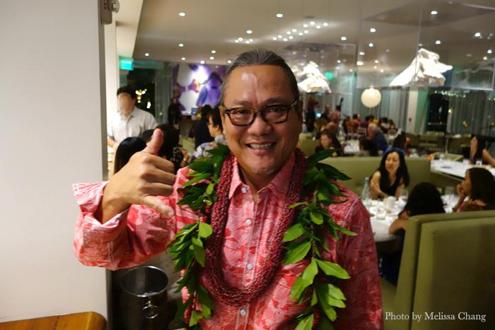 Iron Chef Masaharu Morimoto at his Waikiki venue.