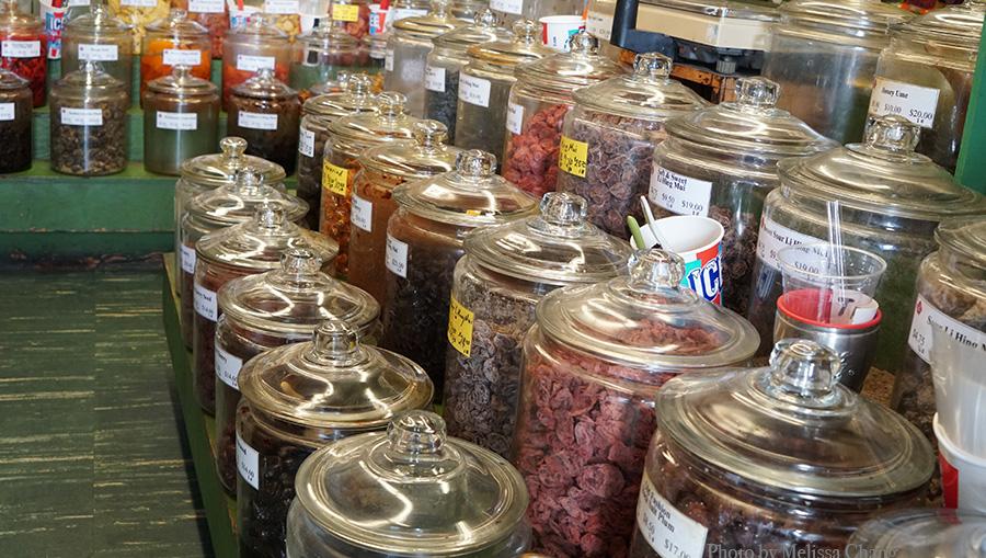 Crack Seed jars