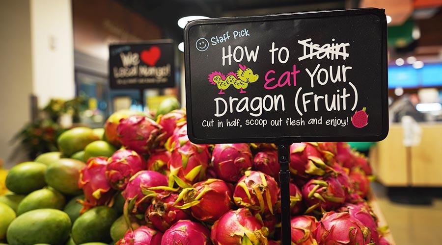 dragonfruits at foodland farms