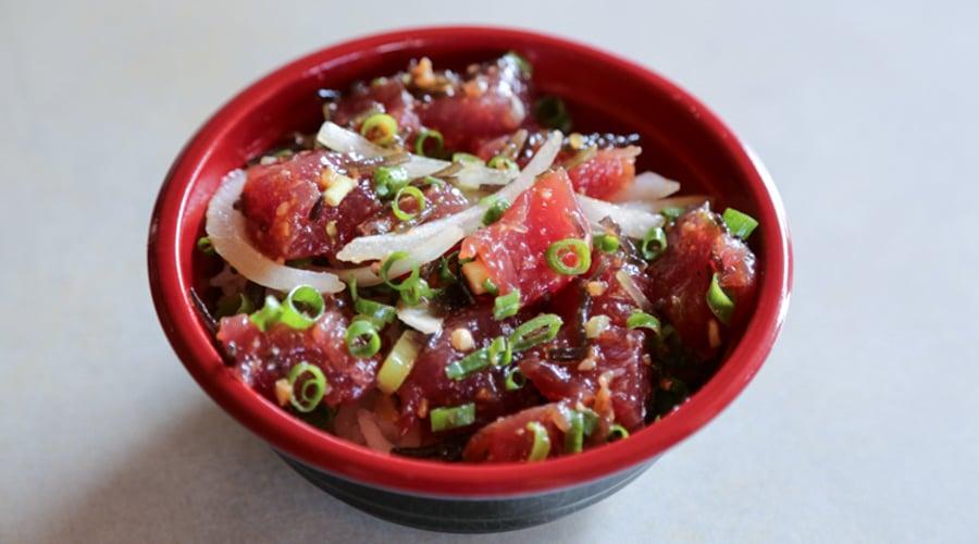 Tanioka's Onion Limu Ahi Poke