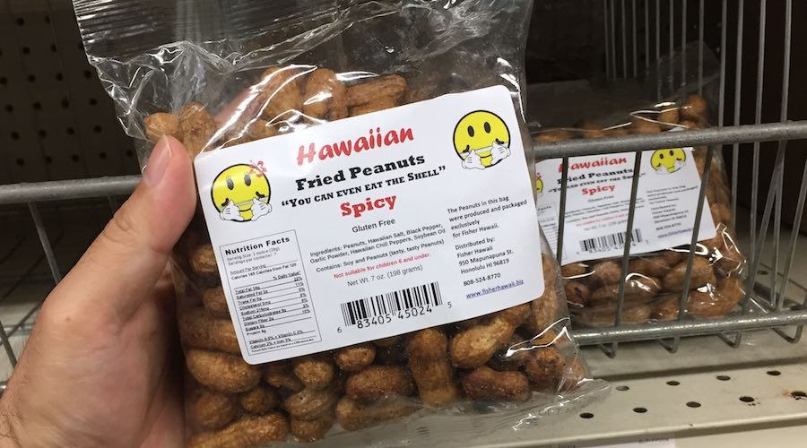 Fisher Hawaii Fried Peanuts Hawaiian Spicy Snacks