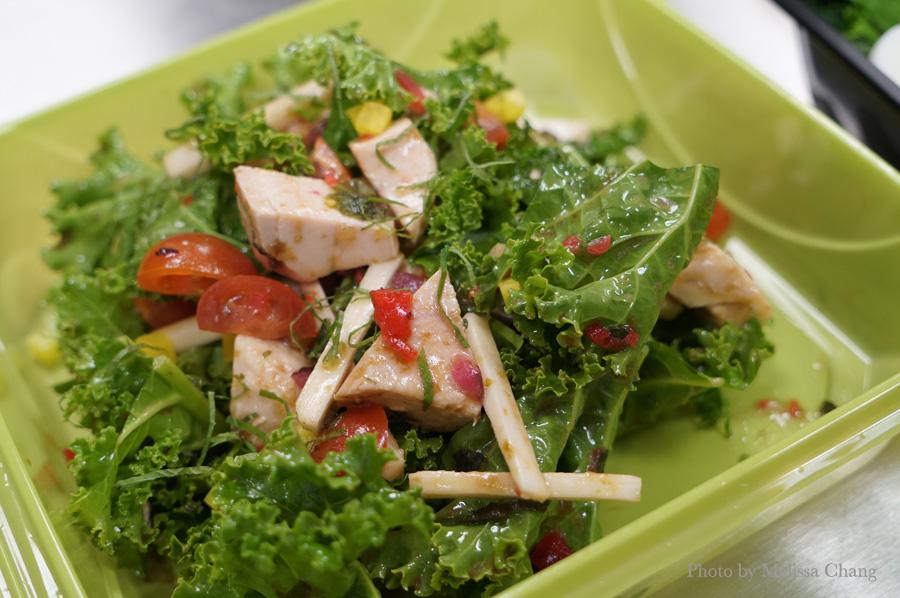 Chicken salad ($8).