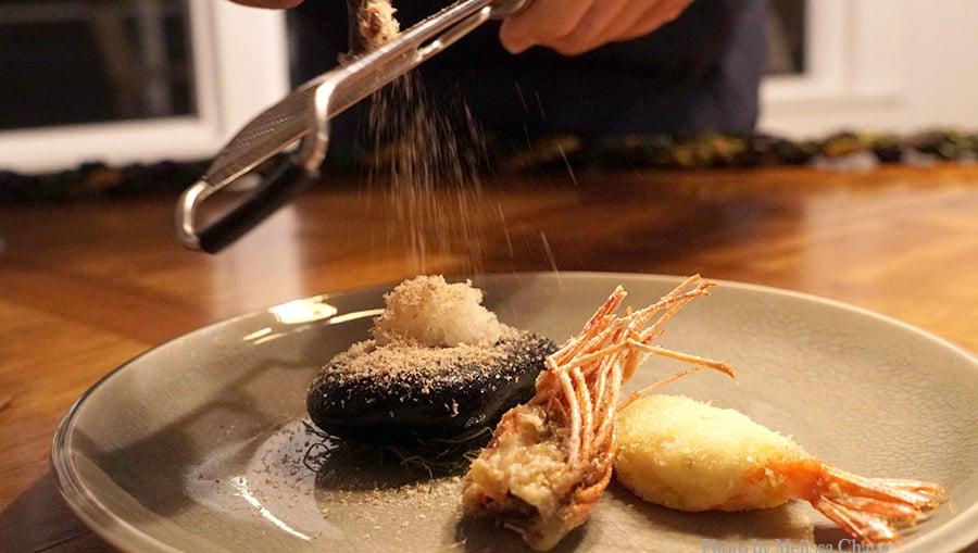 Grandma's shrimp tempura