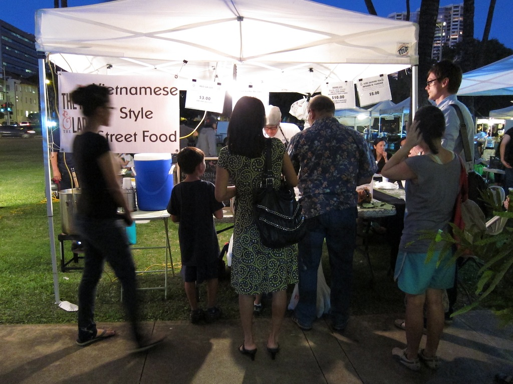 Pig and the Lady at Wednesday Honolulu Farmers Market
