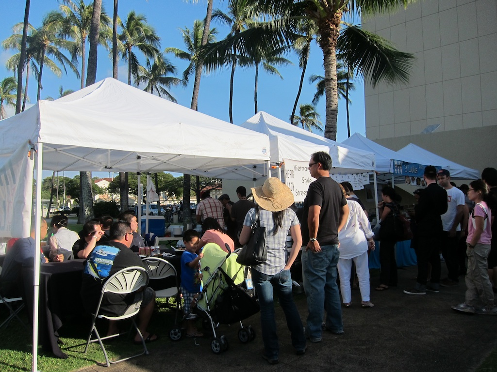 Pig and the Lady at Honolulu Farmers Market