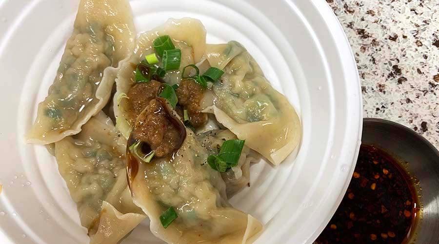 fong's meat shop boiled dumplings