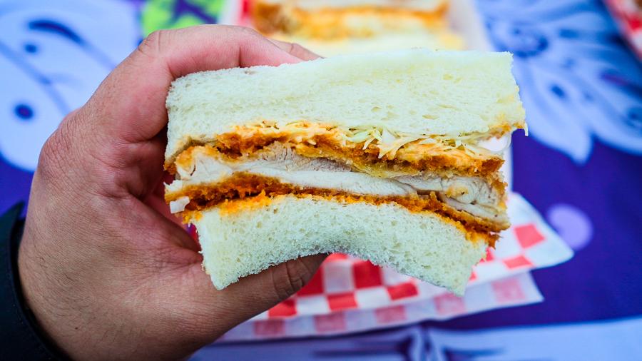 Katsu Sando Tatsuya chicken katsu sandwich